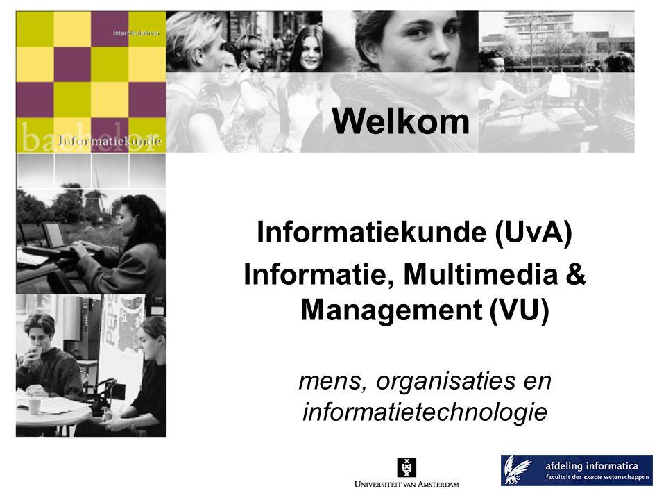 Presentatieoverzicht •Wat is Informatiekunde/IMM.