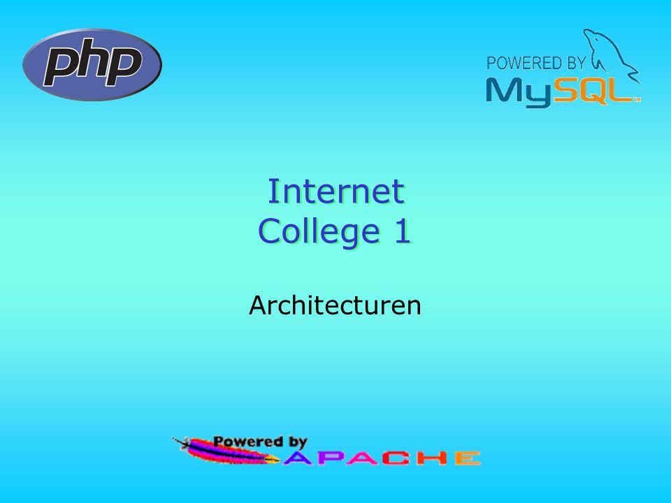 Internet College 1 Architecturen