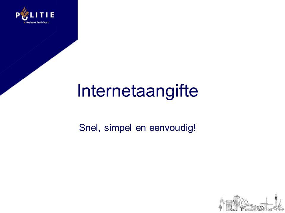 Internetaangifte Snel, simpel en eenvoudig!