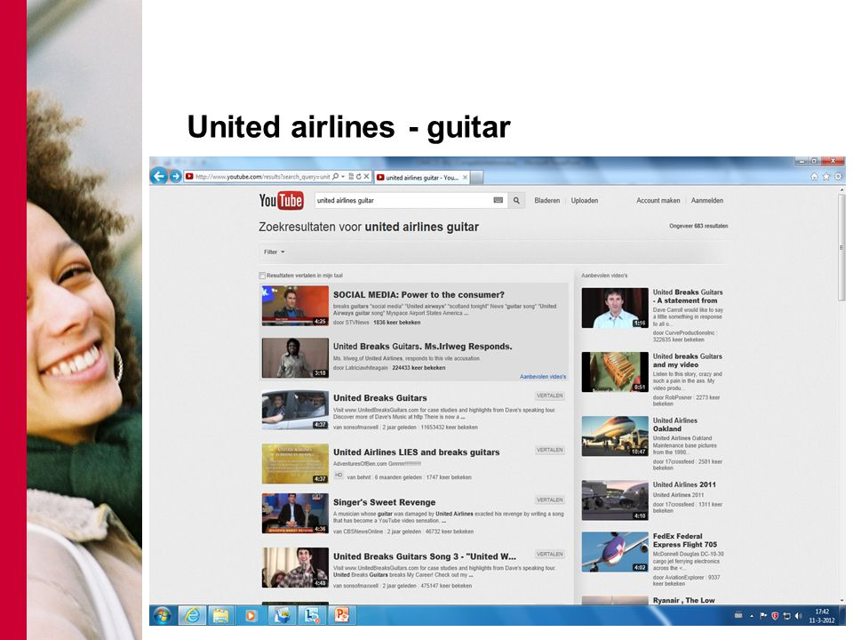 United airlines - guitar