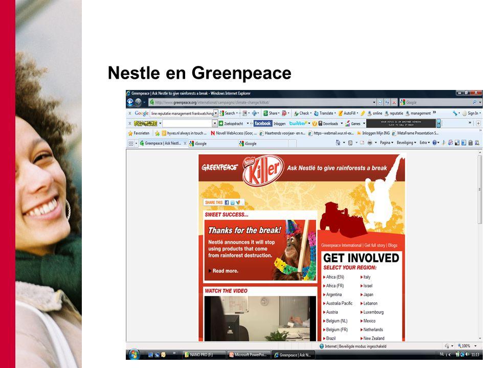 Nestle en Greenpeace