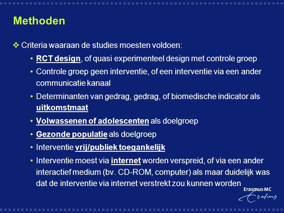 Vragen? a.oenema@erasmusmc.nl Met dank aan:
