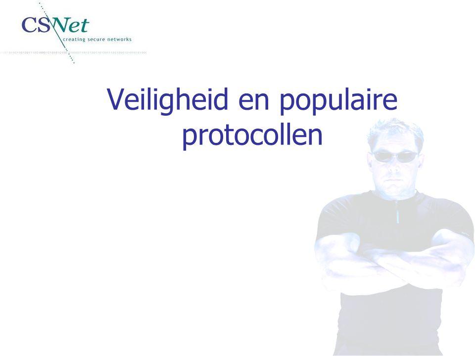 Veiligheid en populaire protocollen