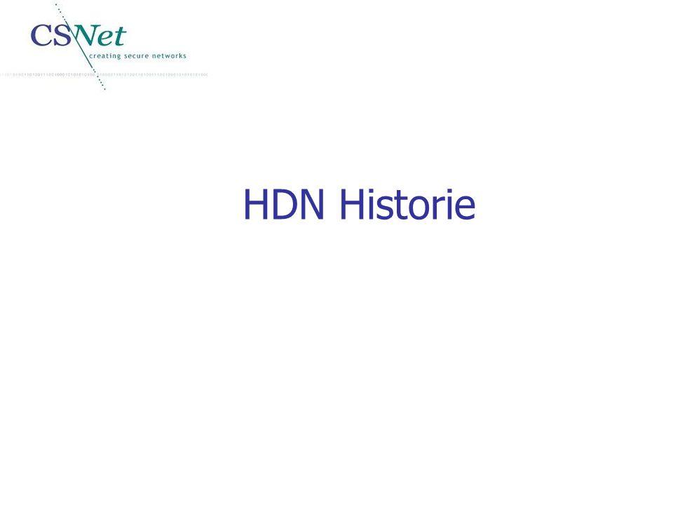 HDN Historie