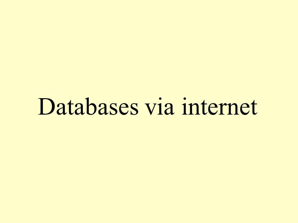 <?php mysql_connect( localhost , root ); mysql_select_db('ledendatabase ); $query = SELECT * FROM leden ; $result = mysql_query($query); $aantalrijen = mysql_num_rows($result); $aantalvelden = mysql_num_fields($result); print( \n ); for($x=0 ; $x<$aantalrijen ; $x++) { print( \n ); $array = mysql_fetch_array($result); for($y=0 ; $y<$aantalvelden ; $y++) { print( $array[$y] \n ); } print( \n ); } print( \n ); ?> script7.php Er wordt een verbinding gemaakt met het database- programma