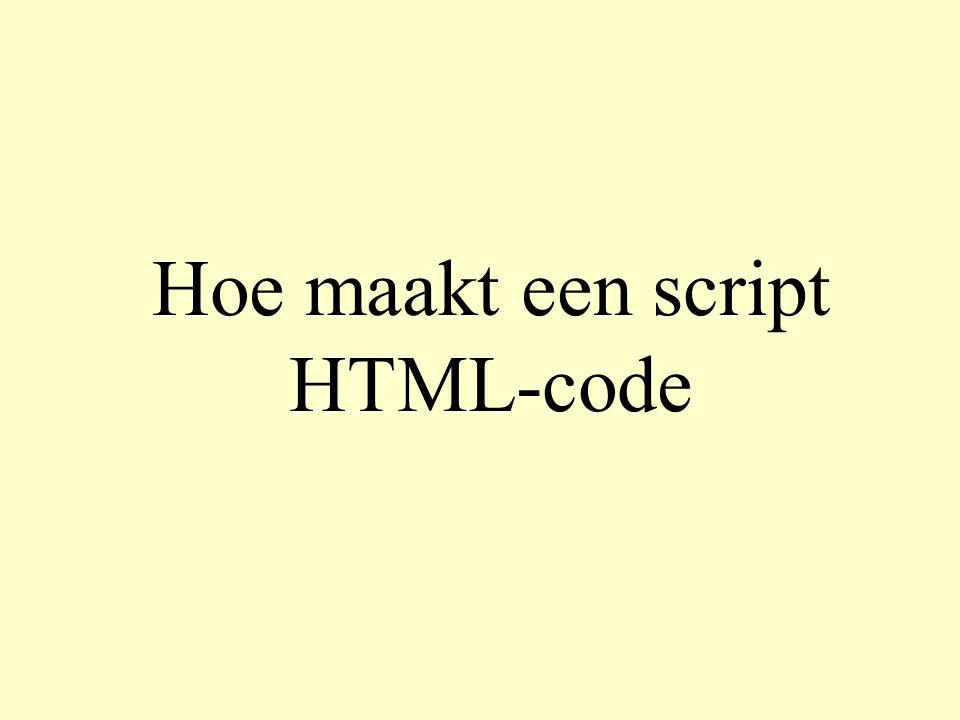webserver machine HTML-pagina s gebruikers machine http-verzoek voor script + formulierinvoer HTML pagina web server (Apache) browser internet (PHP)scripts scriptmachine (PHP parser) HTML verzoek HTML http-verzoek voor pagina met formulier HTML pagina weergave