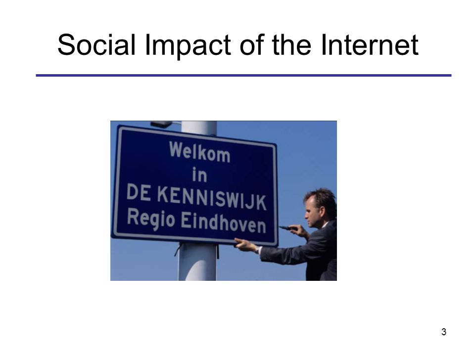 3 Social Impact of the Internet