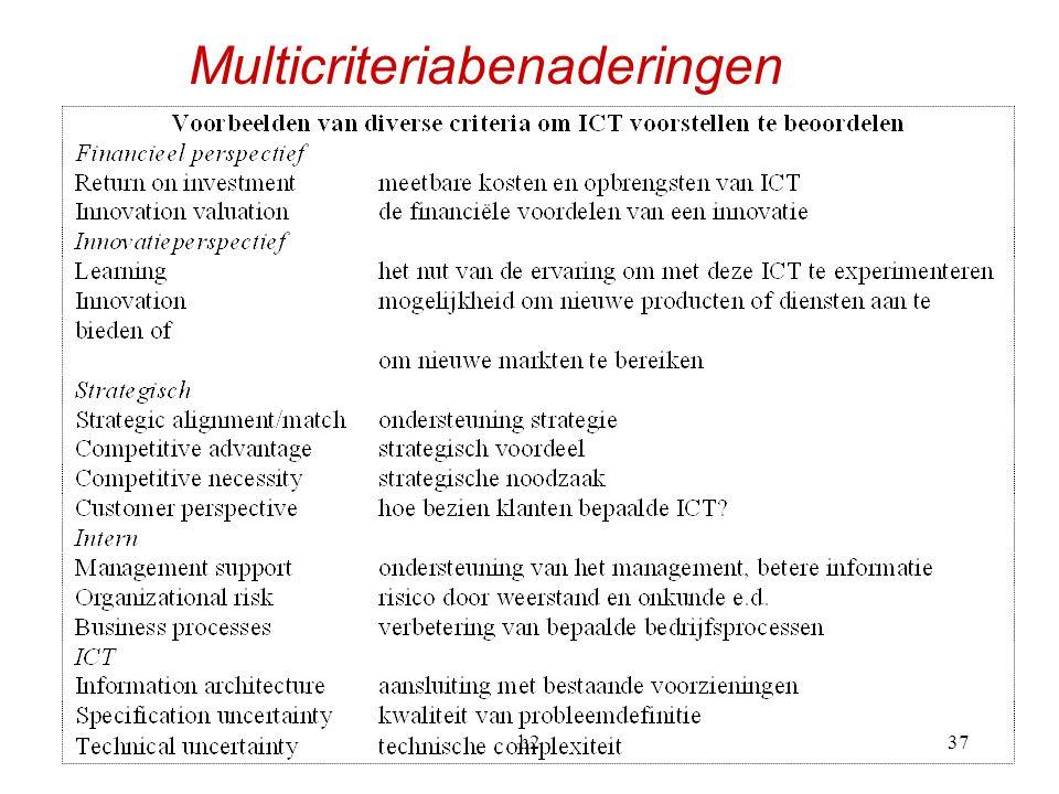 h237 Multicriteriabenaderingen