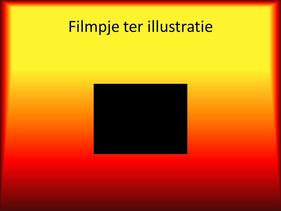 Filmpje ter illustratie