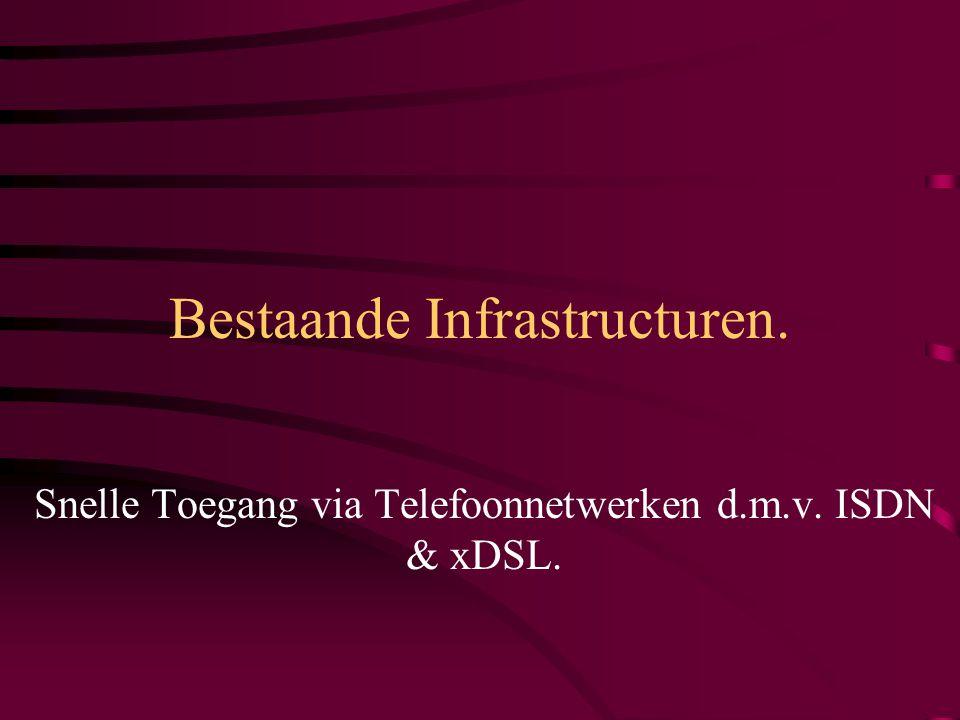 Snelle Toegang via CATV- Netwerken: HFC.HFC: Hybrid Fiber/Coax.