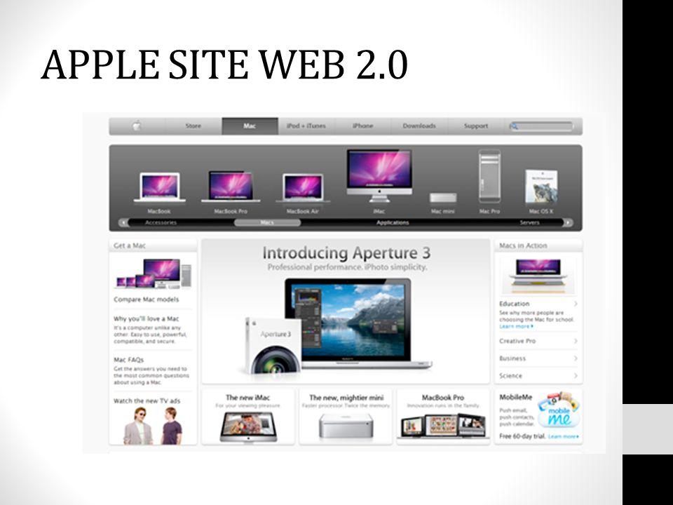 APPLE SITE WEB 2.0