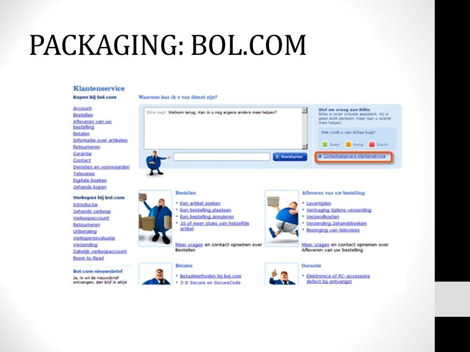 PACKAGING: BOL.COM