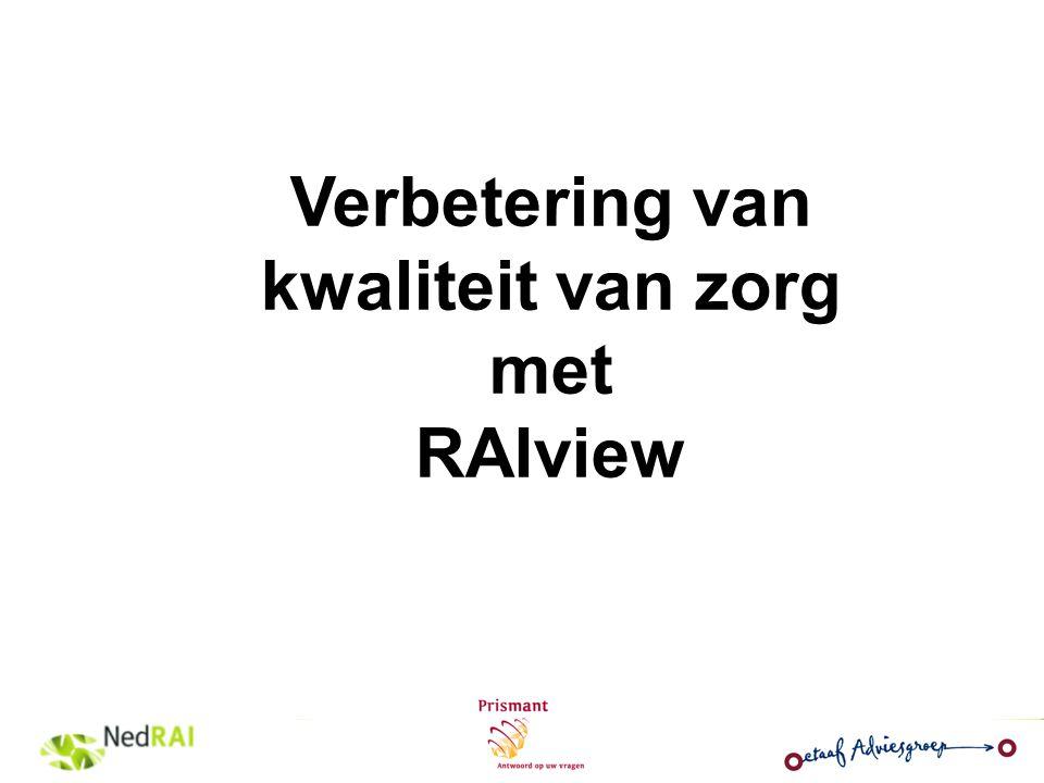 Verbetering van kwaliteit van zorg met RAIview