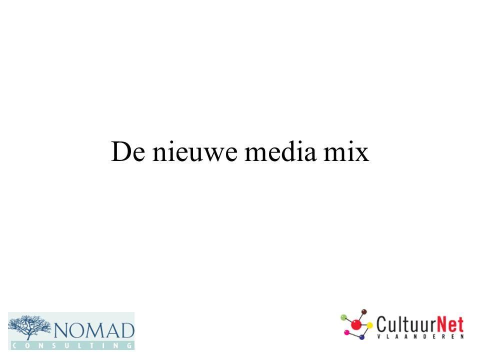 De nieuwe media mix