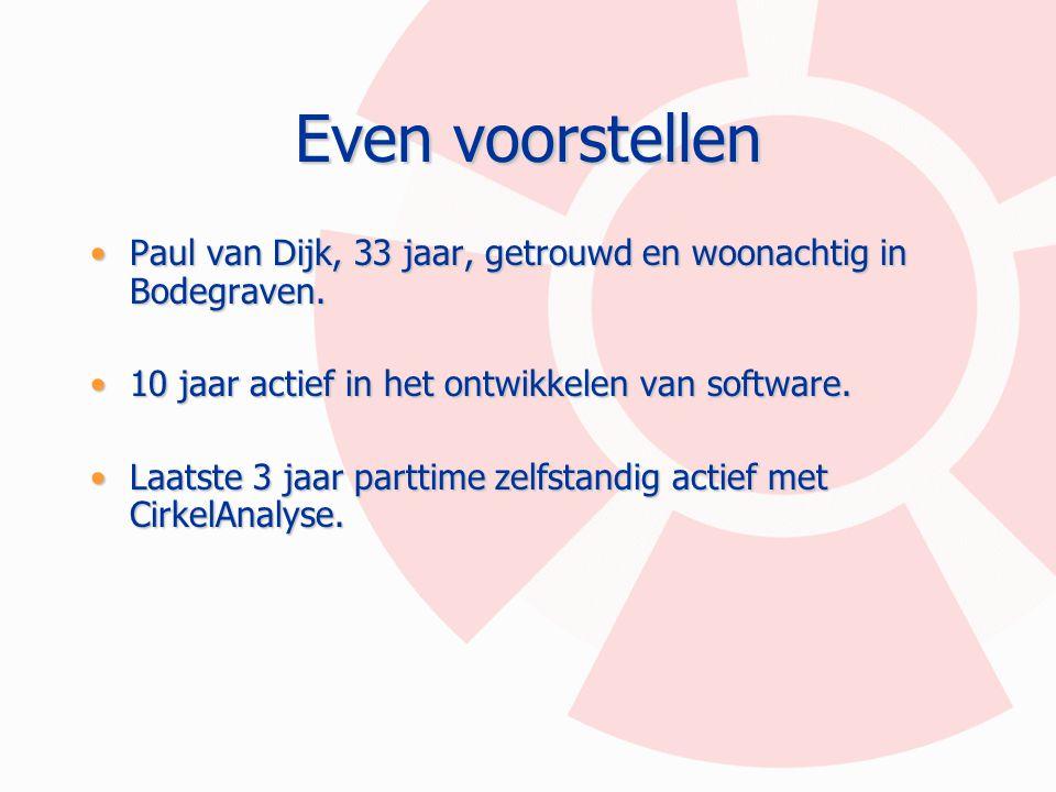 Even voorstellen Paul van Dijk, 33 jaar, getrouwd en woonachtig in Bodegraven.Paul van Dijk, 33 jaar, getrouwd en woonachtig in Bodegraven. 10 jaar ac