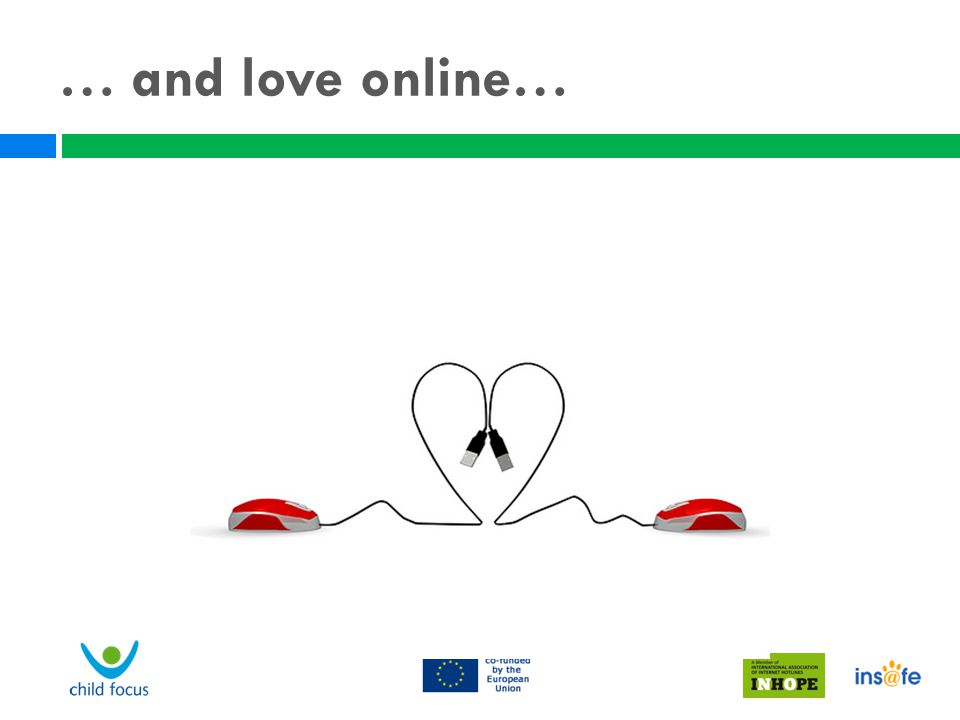 … and love online…