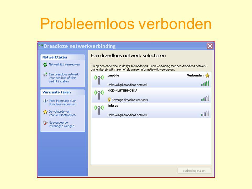 Probleemloos verbonden