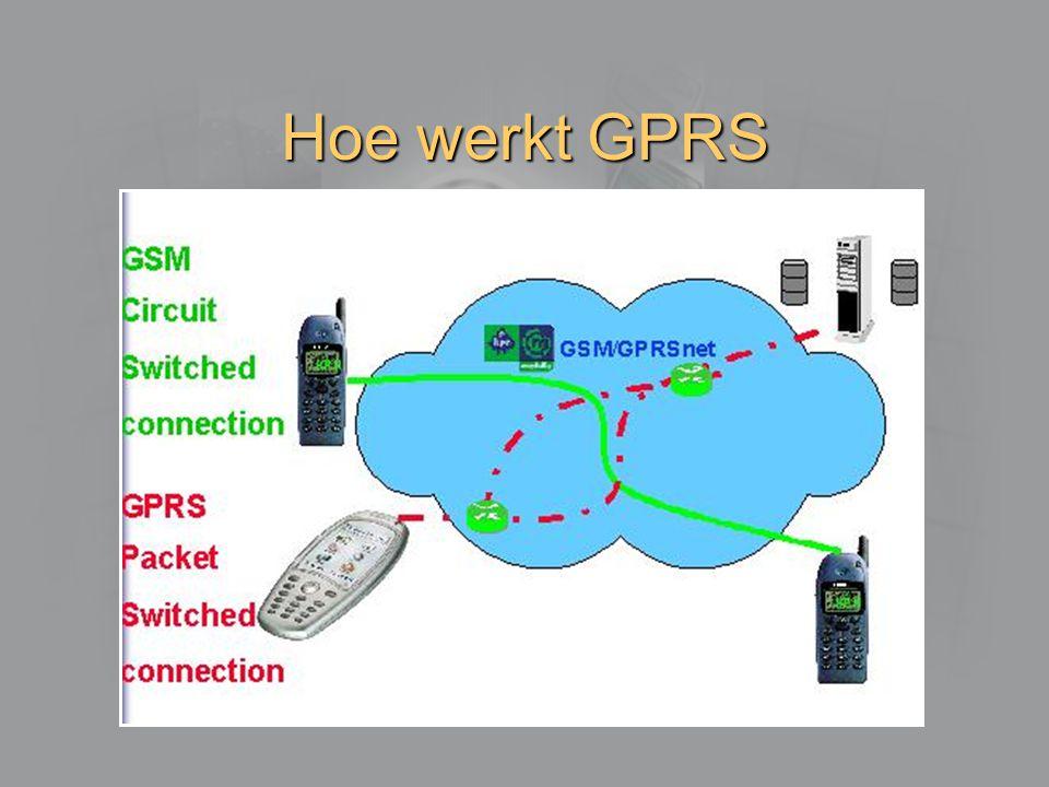 Hoe werkt GPRS
