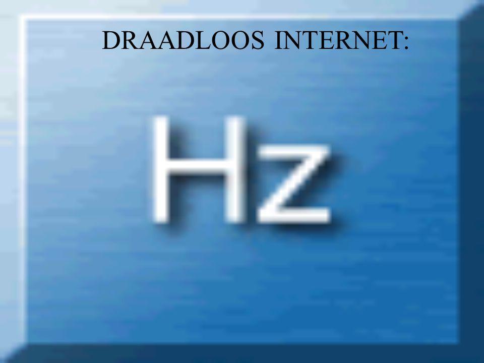 DRAADLOOS INTERNET: