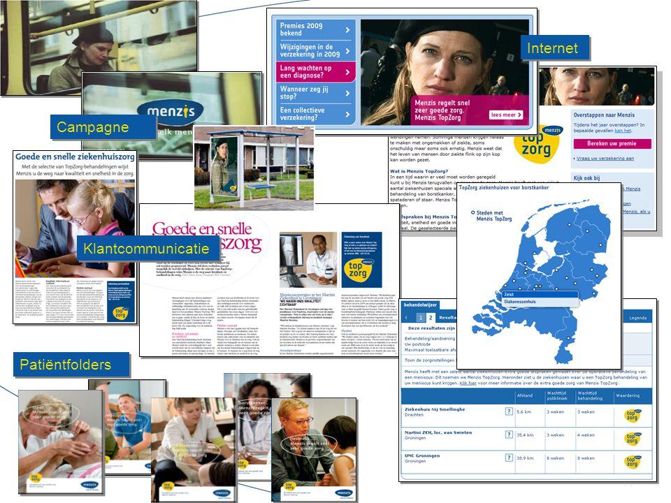 Patiëntfolders Internet Campagne Klantcommunicatie