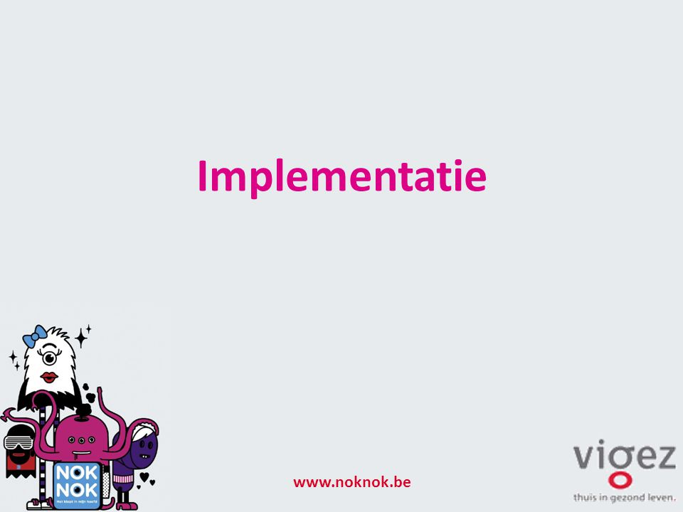 Implementatie www.noknok.be