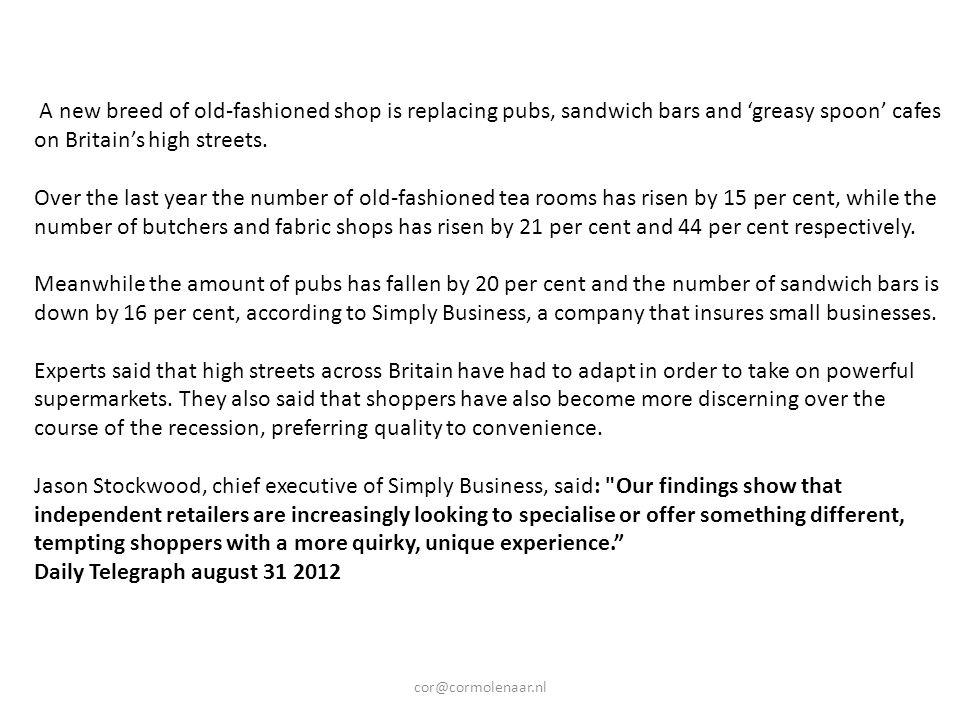 Detailhandel diep in de min In de Nederlandse detailhandel gaat het vooral slecht in de zogeheten 'non-foodsector'.