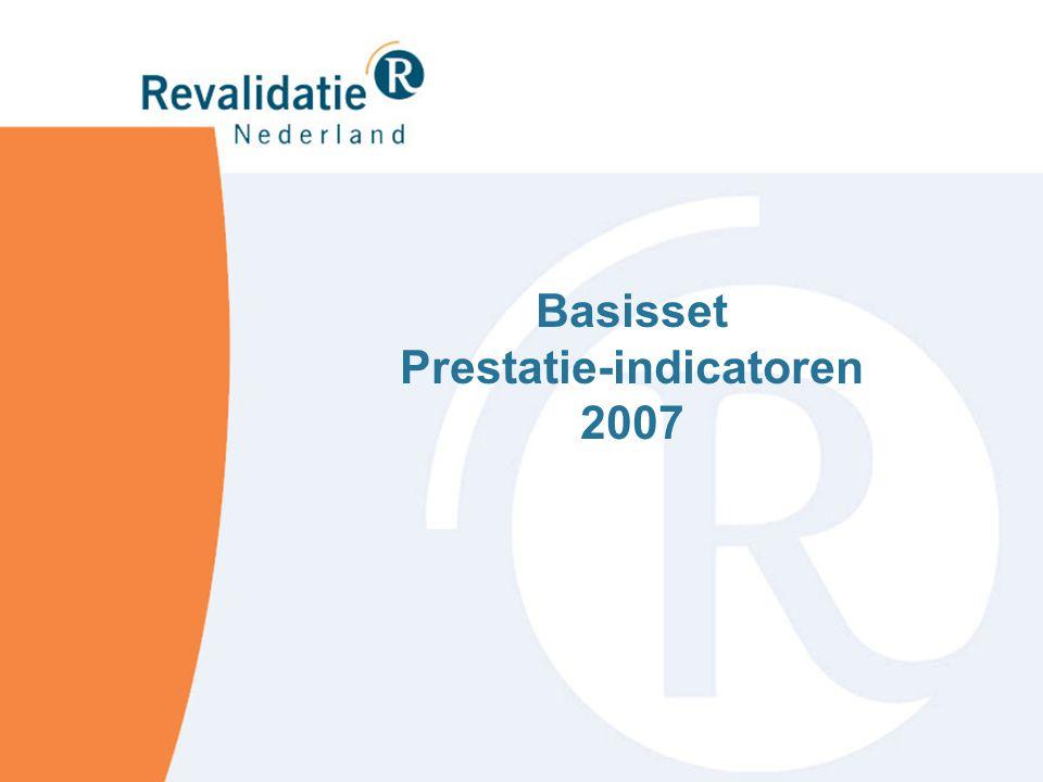 Basisset Prestatie-indicatoren 2007