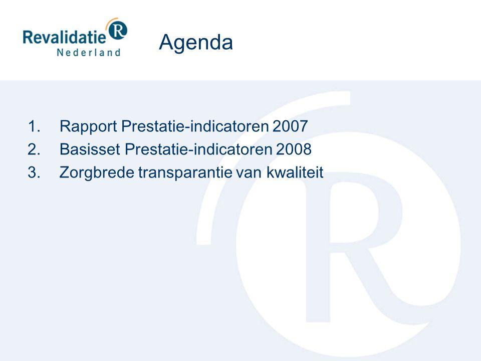 Rapport Prestatie-indicatoren 2007