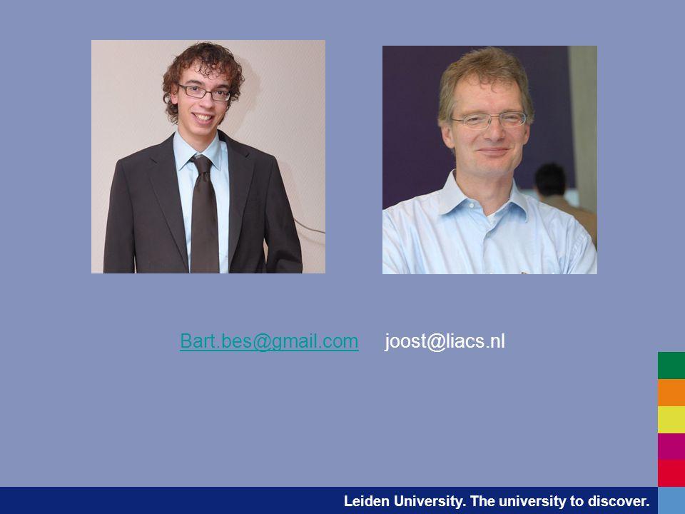 Leiden University.The university to discover. Studievaardigheden -Welkom.