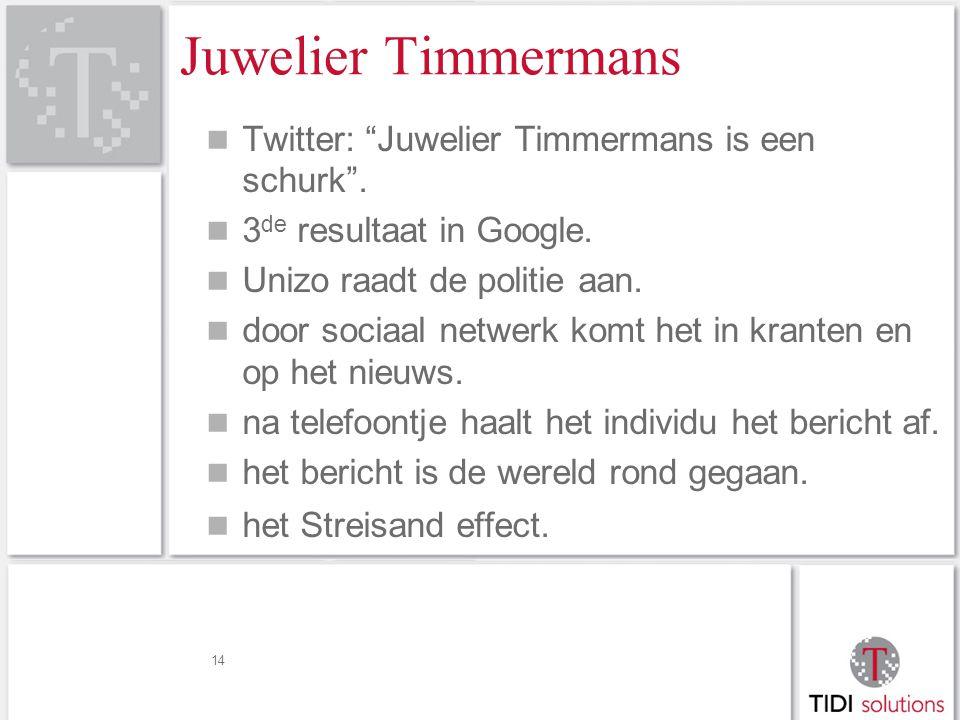 Juwelier Timmermans Twitter: Juwelier Timmermans is een schurk .