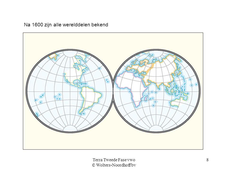 Terra Tweede Fase vwo © Wolters-Noordhoff bv 9 De relatieve afstand tussen Nederland en Nederlands Indië werd steeds korter