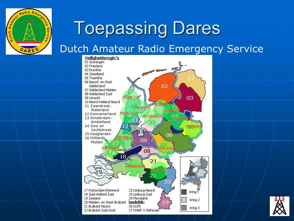 Toepassing Dares Dutch Amateur Radio Emergency Service