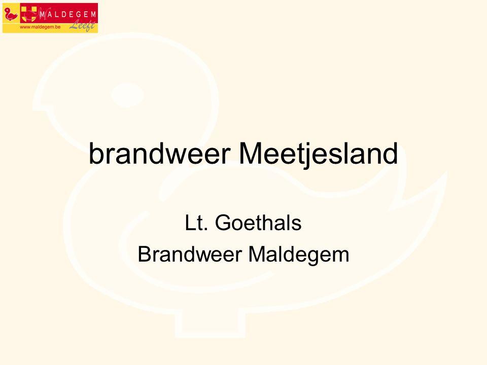 brandweer Meetjesland Lt. Goethals Brandweer Maldegem