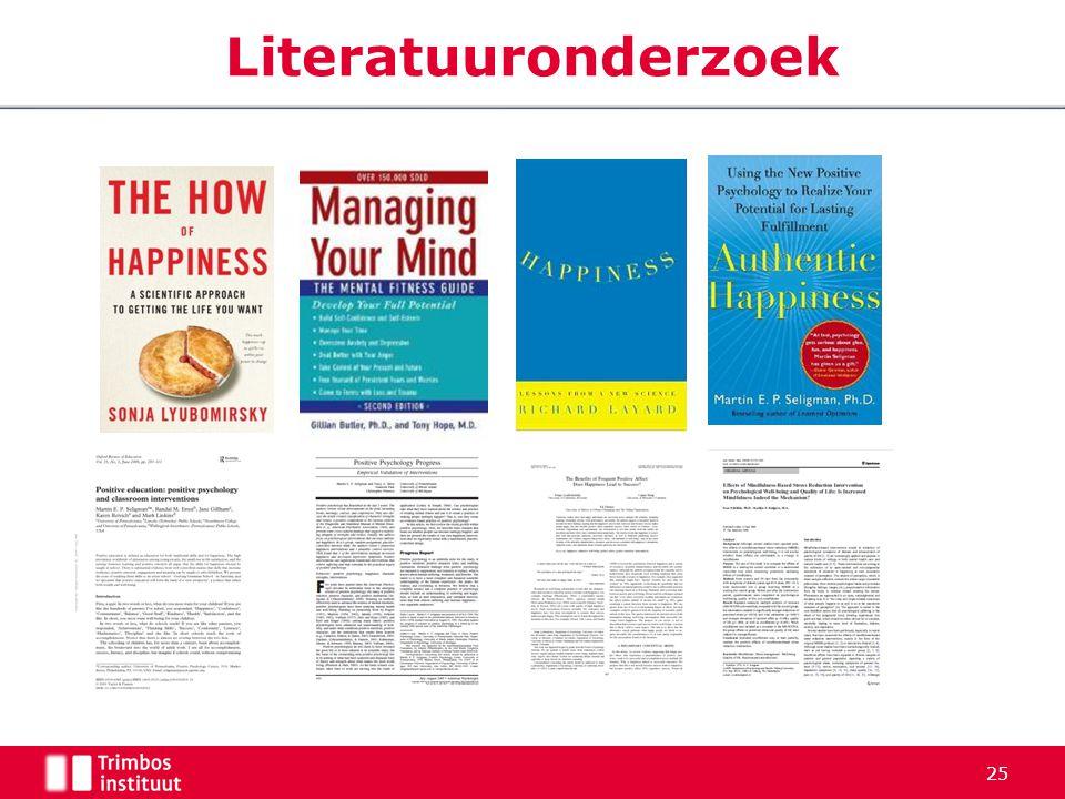 Literatuuronderzoek 25