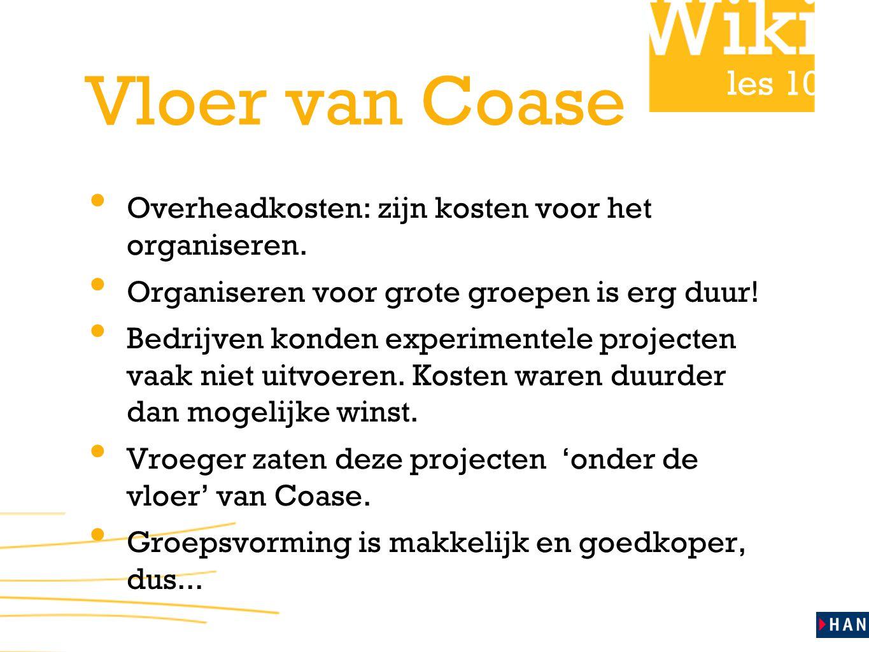 les 10 Vloer van Coase Overheadkosten: zijn kosten voor het organiseren.