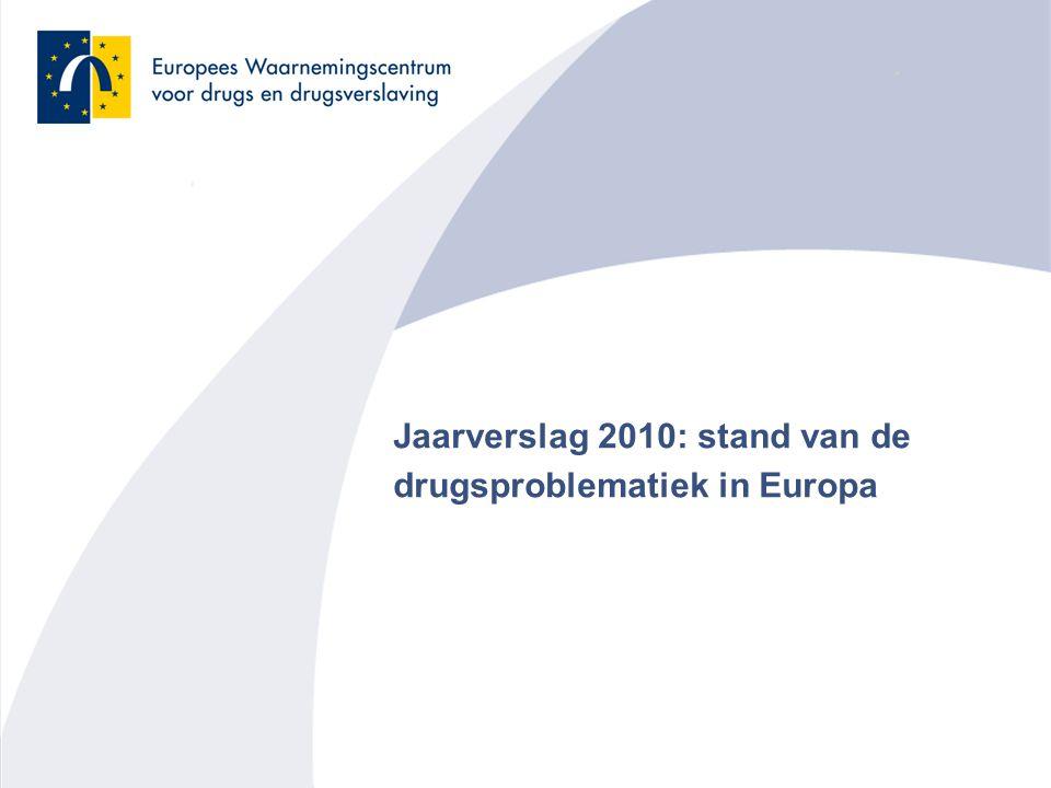 12 Trends in gemiddelde leeftijd van door drugs geïnduceerde sterfgevallen in enkele Europese landen Heroïne en spuiten Cocaïne Ecstasy en amfetaminen Cannabis Nieuwe drugs en internet De aanpak van drugs- problemen