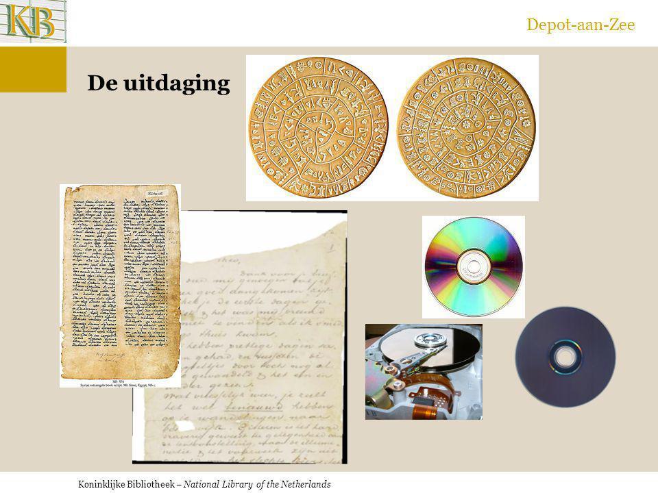 Koninklijke Bibliotheek – National Library of the Netherlands Depot-aan-Zee De uitdaging