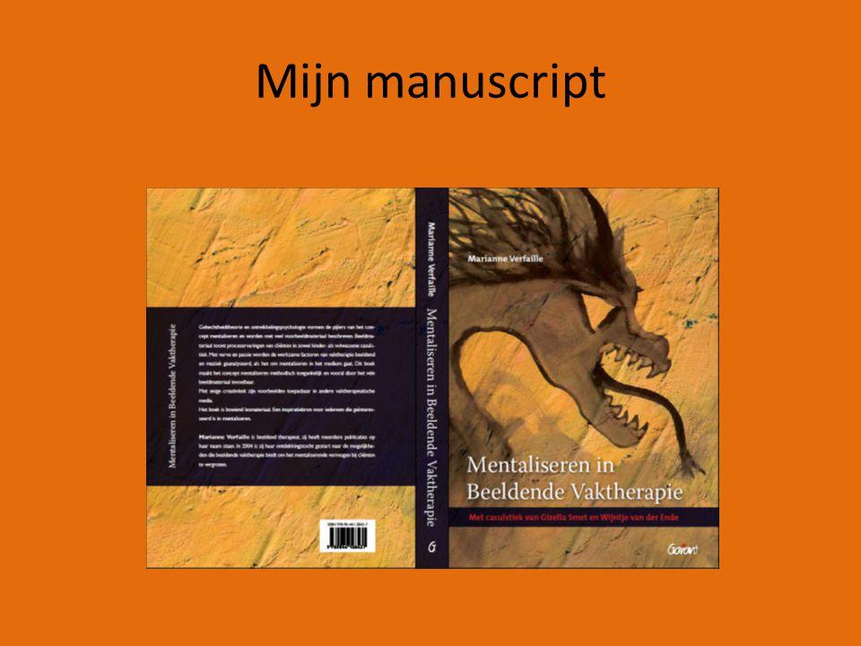 Mijn manuscript