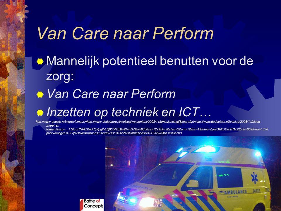 Van Care naar Perform  Mannelijk potentieel benutten voor de zorg:  Van Care naar Perform  Inzetten op techniek en ICT… http://www.google.nl/imgres