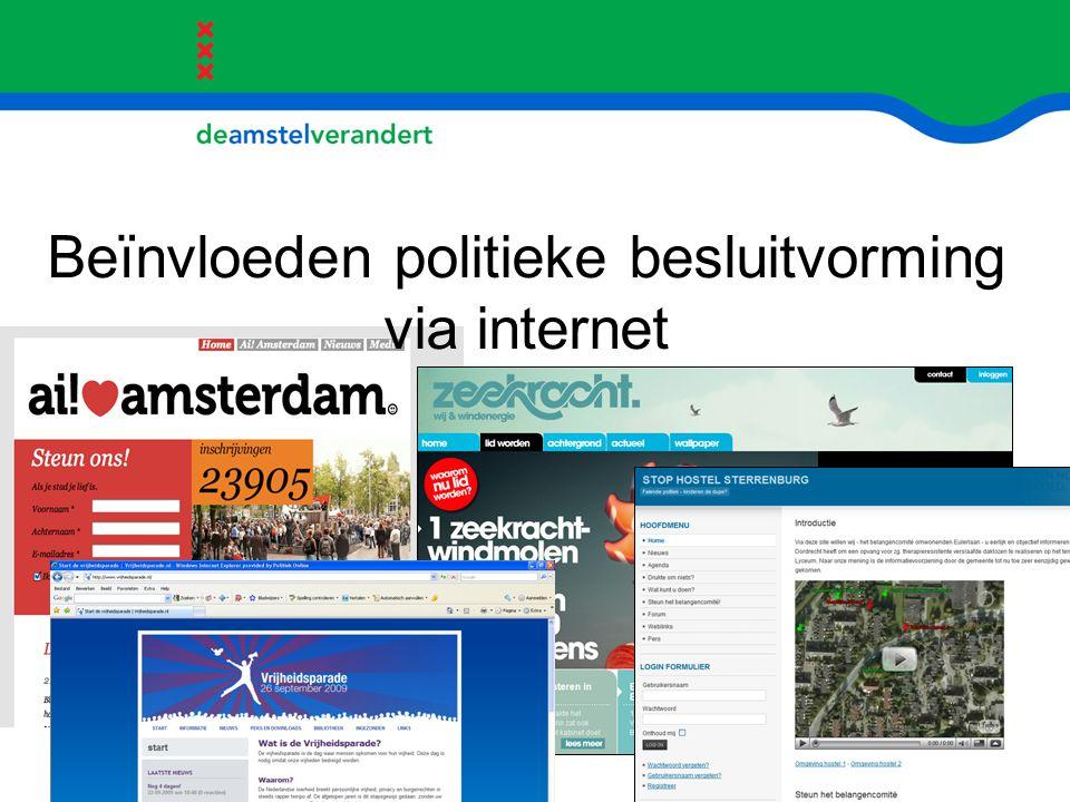 Experiment 'burger-netwerk-participatie' Gesprek in 3 rondes over Amsteloeverprogramma