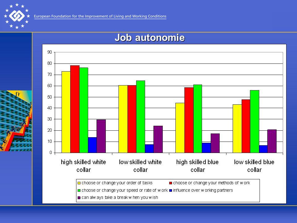 Job autonomie
