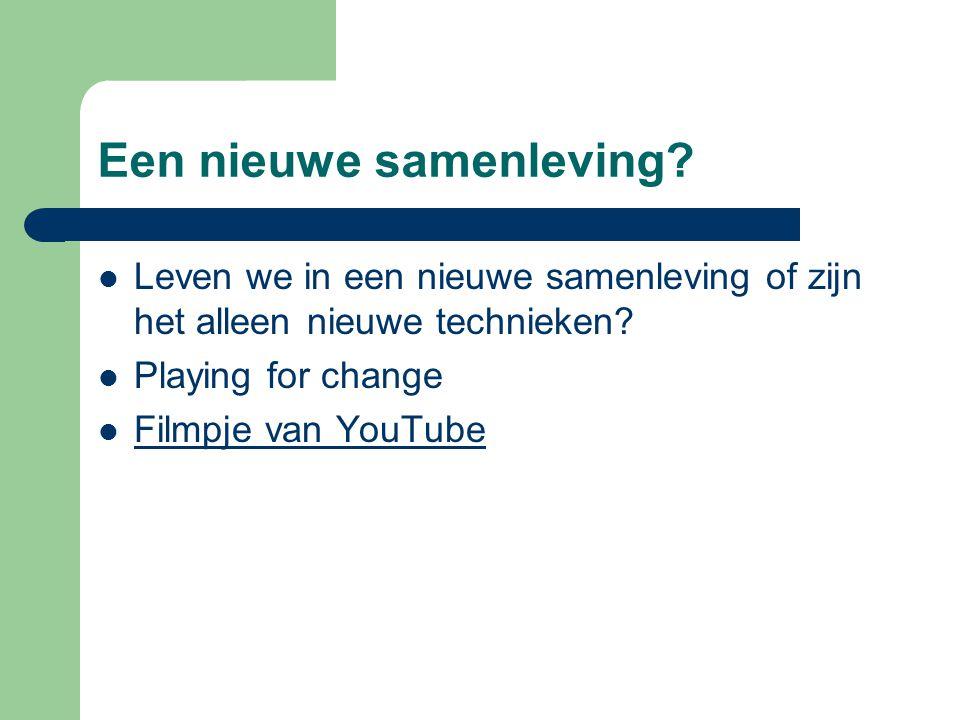 Social en Nieuwe Media Hyves – Minder populair aan het worden.