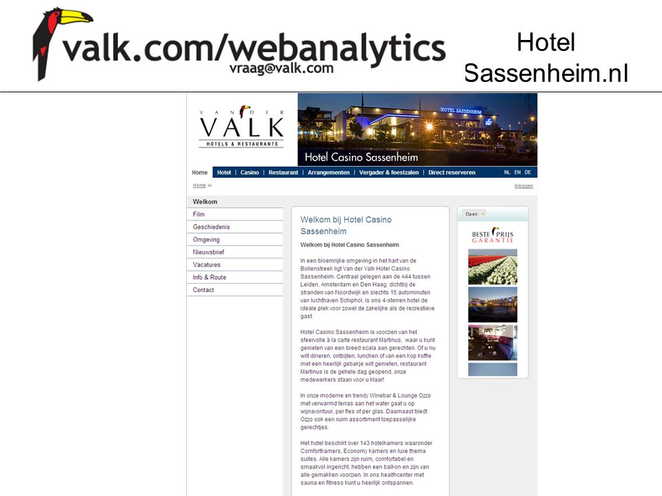 Hotel Sassenheim.nl
