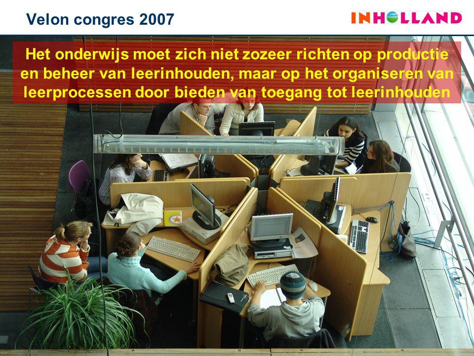 Het onderwijs moet zich niet zozeer richten op productie en beheer van leerinhouden, maar op het organiseren van leerprocessen door bieden van toegang