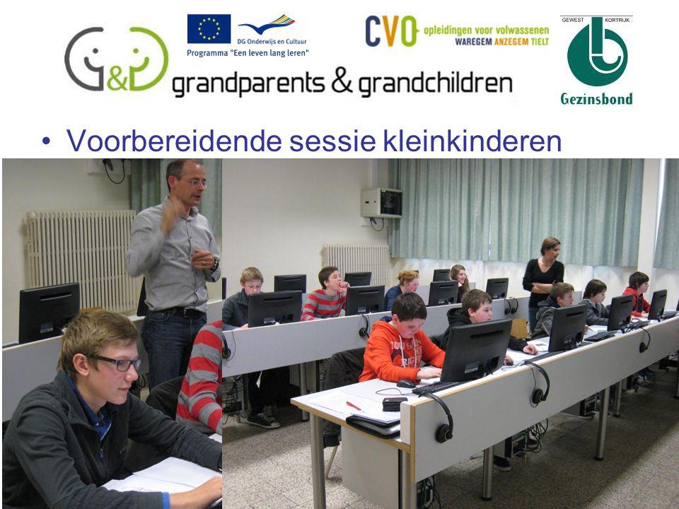 Voorbereidende sessie kleinkinderen 11
