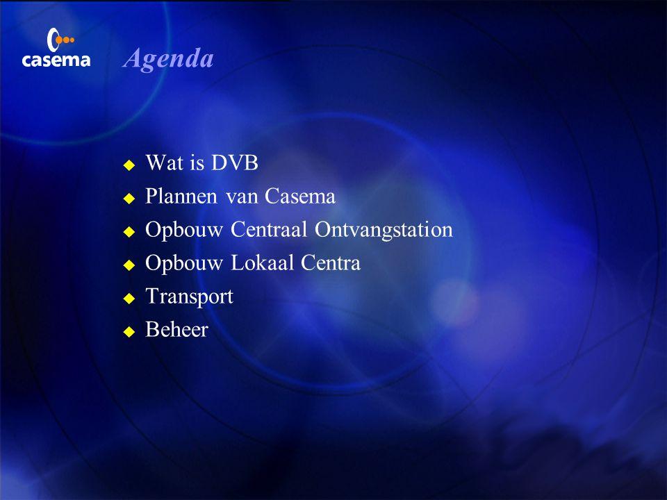 Digital Video Broadcasting Casema Consultingjuni 1999