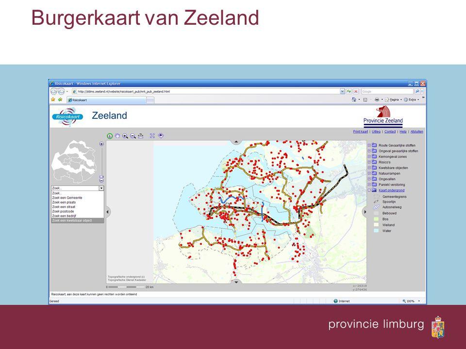 Burgerkaart van Zeeland