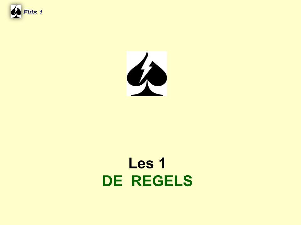 Flits 1 Les 1 DE REGELS