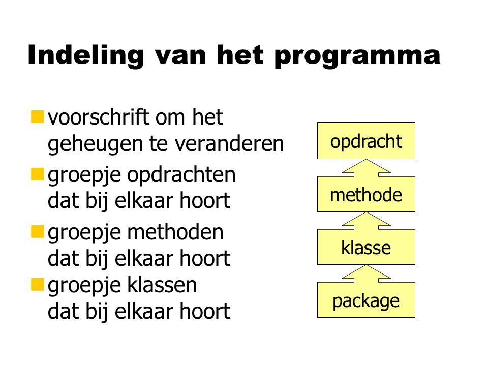 Programmeer-paradigma's Imperatief Procedureel Object- georiënteerd FortranBasic PascalC C++Java Declaratief Functioneel Logisch Lisp Haskell Prolog Assembler Algol Simula Excel