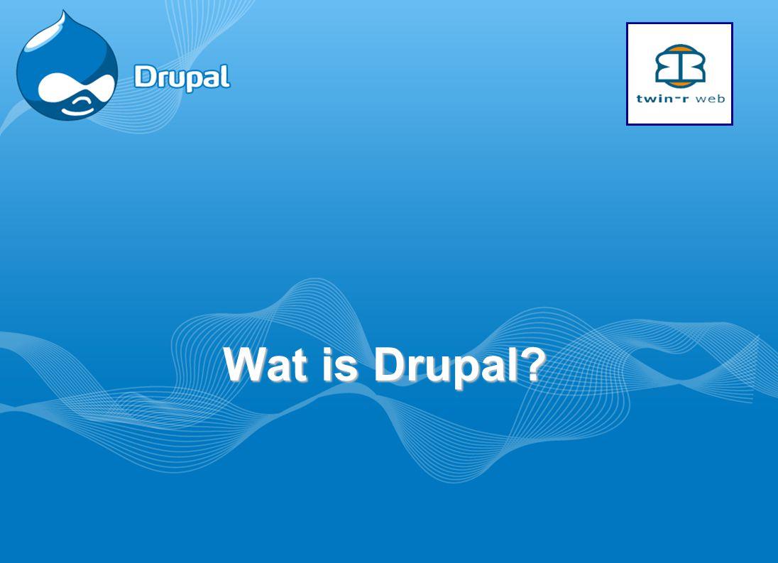 Wat is Drupal?